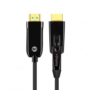 开博尔光纤HDMI转Micro HDMI线2合1相机4K高清投影连接线