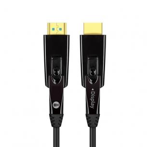 开博尔光纤micro HDMI线相机投影连接线极细易穿管系列