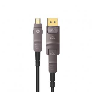 开博尔光纤Mini DP转DP1.4连接线8K/4K@144Hz surface转4K显示器转接线