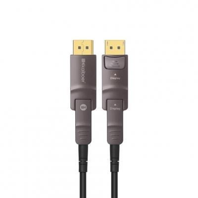 开博尔光纤Mini DP转DP1.4版8K/4K144Hz显卡DP线
